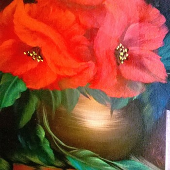 """Original Oil Painting Signed """"S. Rojette"""" (I Think). - Fine Art"""