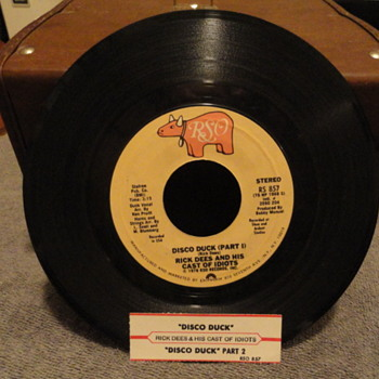 Disco Duck 45 / Juke Box label