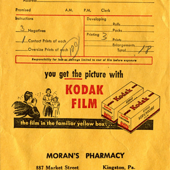 Kodak Photo Bag 1952