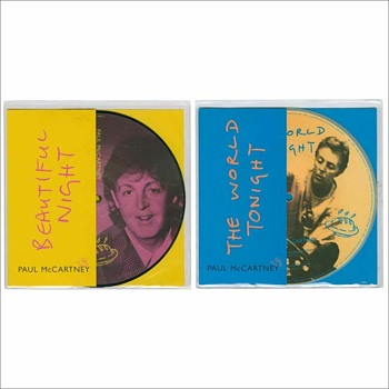 Paul McCartney owned picture discs-1997