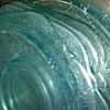 Light Blue Heavy Glass