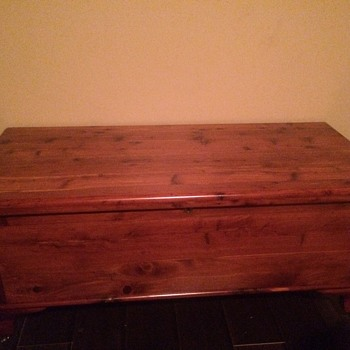 My Grandfathers cedar chest - Furniture