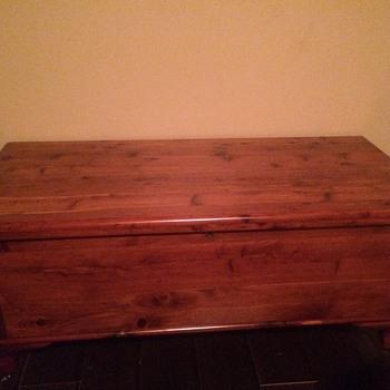 My Grandfathers cedar chest