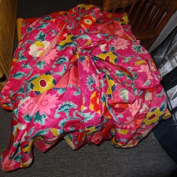 Vintage Silk Japanese Kimono - Asian