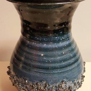 Glit HF Iceland Lava Ceramic Vase - Pottery