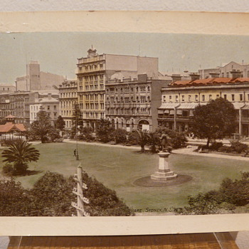 WYNYARD SQUARE, SYDNEY, AUSTRALIA c 1910. - Postcards