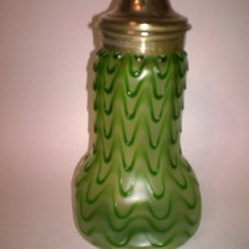 Bohemian Sugar Shaker? - Art Glass