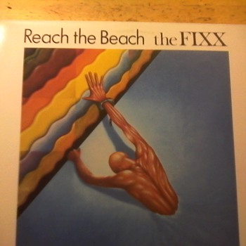 "The Fixx ""Reach The Beach"" - Records"