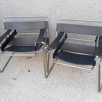 """pair of """"WASSILY"""" chairs - Furniture"""