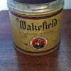 Wakefield tobacco tin.