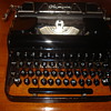 1935 Olympia Elite Portable typewriter (Dutch)