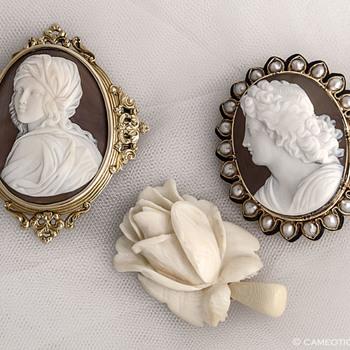 Victorian Cameos - Fine Jewelry