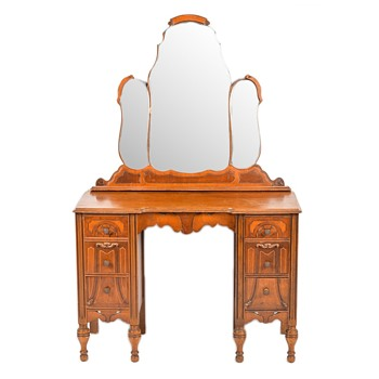 Antique vanity and dresser - Furniture
