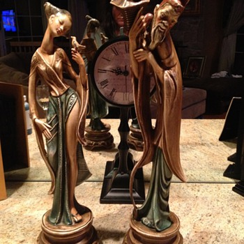 chinese statues - Asian