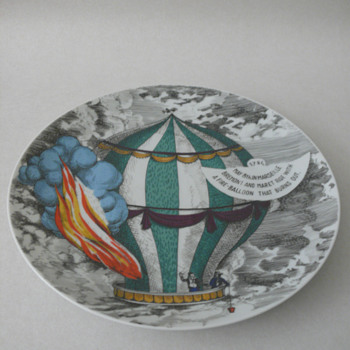 a fornasetti plate by rosenthal - Pottery