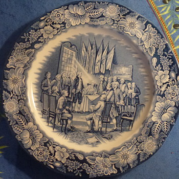 "Enoch Wedgwood plate 11"" - China and Dinnerware"