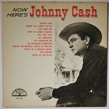 More early JOHNNY CASH - Records