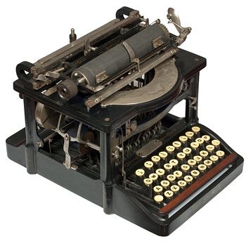 The Shimer typewriter - 1898