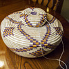 Early Polychrome Coiled Bottleneck Basket