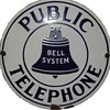 Bell System Public Telephone White