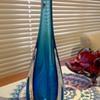 Garage sale blue vase