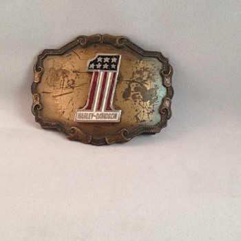 Harley Davidson Belt Buckle - Accessories