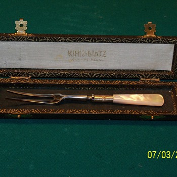 Mother of Pearl Pickle Fork - Kitchen