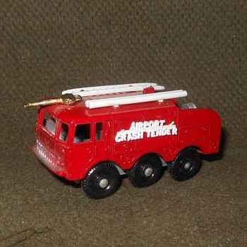 Mighty Mite Matchbox Monday MB 63 Foamite Crash Tender Fire Truck 1965-1968 - Firefighting