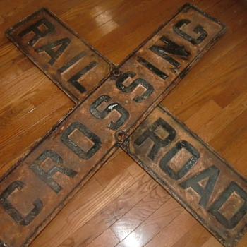 Railroad Crossing Signs - Signs