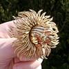 Trifari Flower Pin