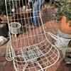 MCM Outdoor Swivel Chair - Bertoia?