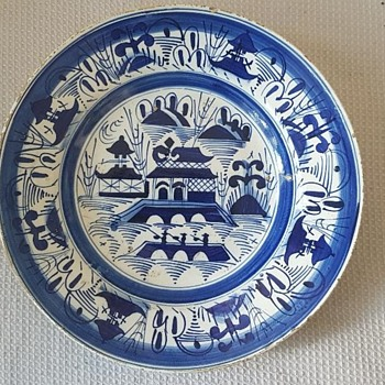 Old Blue and White China..any ideas ? - Asian
