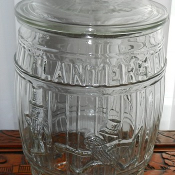 1930's Planters Peanut Barrel - Kitchen