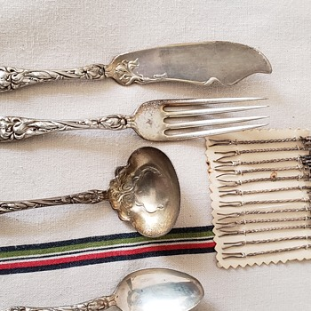 Wallace and Sons 1902 Sterling silver ware - Silver