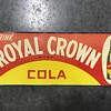 Royal Crown coke sign 1959