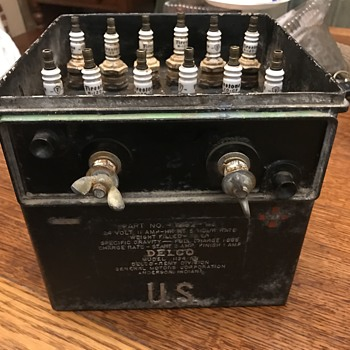 Early Delco generator battery etc - Classic Cars