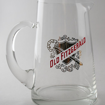 Old Fitzgerald Whiskey Pitcher - Glassware