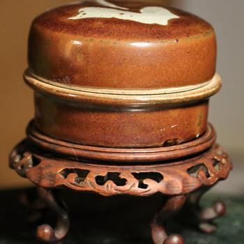 Studio Pottery Covered Box by Warren McKenzie