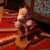 Kachina doll (wolf) signed