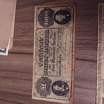 Old money - US Paper Money