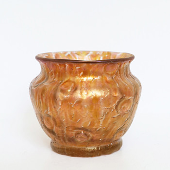 Loetz Orange Astglas Vase, PN II-661, 1897 - Art Glass