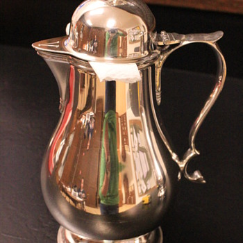 Sterling Silver Flagon - Silver