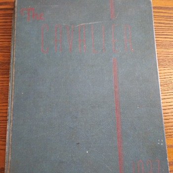 The Cavalier Year Book 1937 - Books
