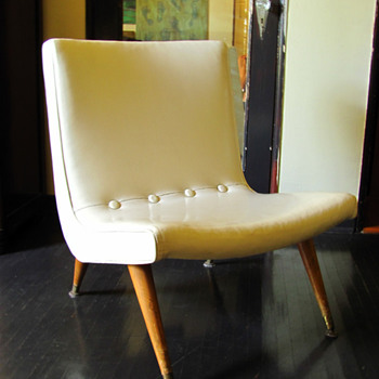 Sears 1958 Scoop Chair - Furniture