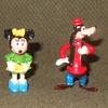 Marx Disneykins Minnie Mouse and Goofy 1960s