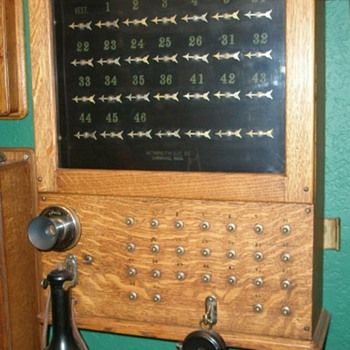 Another Hotel Annunciator or Signal Board