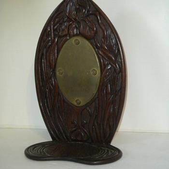 Antique Art Nouveau Candle Scounce. - Art Nouveau