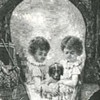 Macabre Photography Trade Card - late 1890s / 1900s