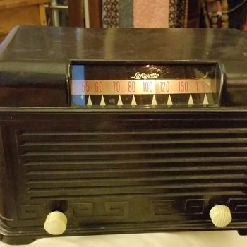 1950 (?) Lafayette Tube Radio