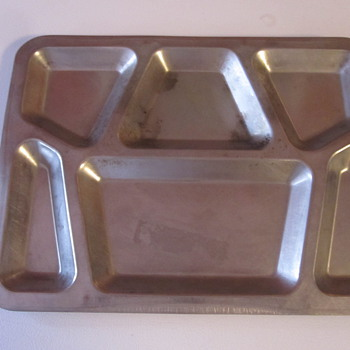 Vintage Military Dinner Tray - Military and Wartime